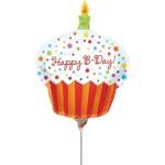 Anagram Mini Shape Happy Birthday Cup Cake