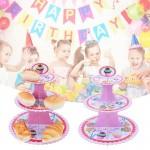 3 Tier Cupcake Design Paper Stand ~ Cupcake