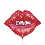Betallic Mini Shape I Love You Red Kiss