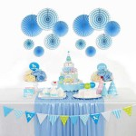 Paper Fan Decoration Set For Party Events