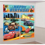 Cars 2 Giant Scene Setter Wall Decorating Kit