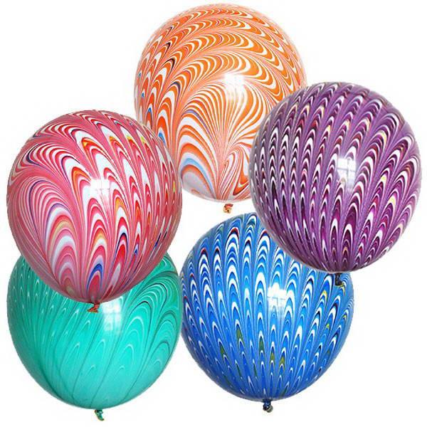 Peacock Balloons ~ 2 pcs YoYo Balloons