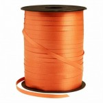 Curling Orange Balloon Ribbon ~ 5mm x 500y