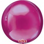 Anagram Orbz Bright Pink Balloon