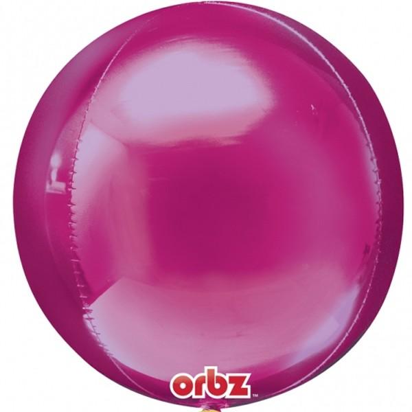ORBZ Foil - Anagram Orbz Bright Pink Balloon