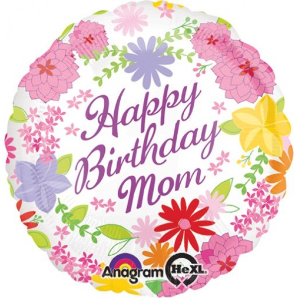 Anagram 17 Mom Pastel Flowers