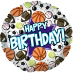 CTI 17 Inch Happy Birthday Sports