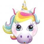 Qualatex 38 inch Pastel Magical Unicorn Head