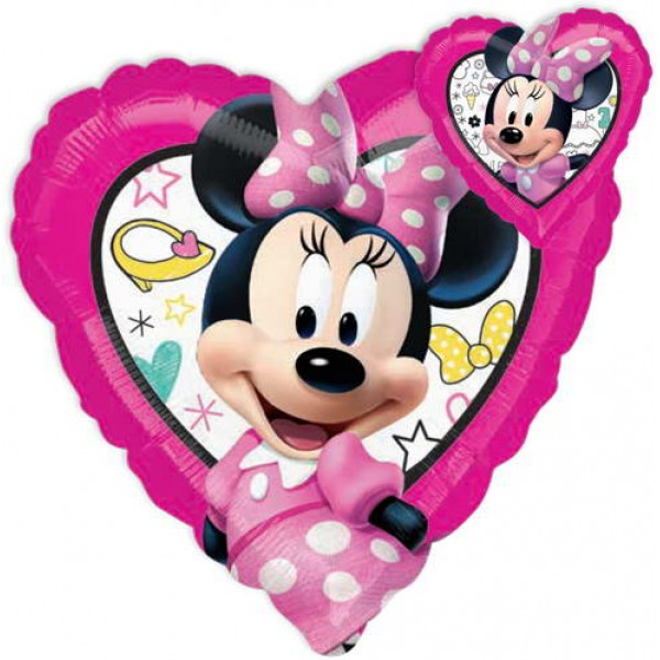 Character Balloons - Anagram Disney 17 Inch Minnie Happy Helpers