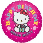 "Anagram 17"" Hello Kitty Hot Pink Birthday"