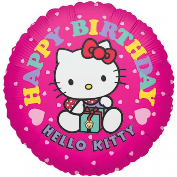 Anagram 17 Hello Kitty Hot Pink Birthday Anagram
