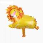 Mytex Cute Lion Mini Foil Balloon ~ 5pcs