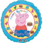 Anagram 17 Inch Peppa Pig Birthday Balloon