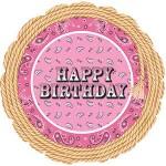 CTI 17 Inch Bandana Birthday