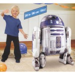 Airwalker Balloon - Anagram 38 Inch R2D2 Shape Star Wars Airwalker