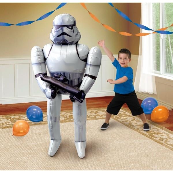 Airwalker Balloon - Anagram 70 Inch Star Wars Storm Trooper Airwalker