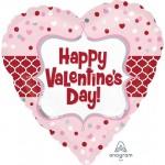 Anagram 17 Inch Valentine Quarterfoil