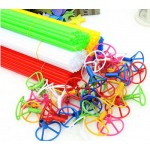 Mytex 40cm Balloon Sticks With Cup For Foil Balloons ~ 20pcs