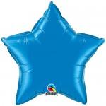 "Qualatex 20"" Inch Star Sapphire Blue"