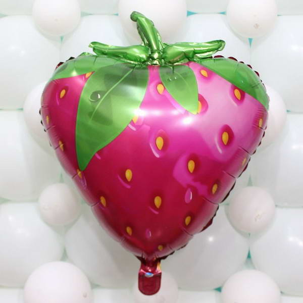 Decorator & Themed - Strawberry Fruit 23 inch Decoration Foil Balloon