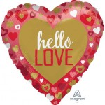 Anagram 17 Inch Hello Love Foil Balloon
