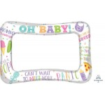 Anagram Baby Shower Selfie Frame ~ 58cm x 40cm