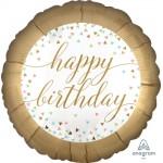 Anagram 9 Inch Pastel Confetti Birthday