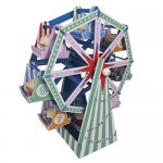 Tableware - Ferris Wheel Cake Stand Centerpiece
