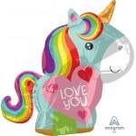 Anagram 21 Inch Unicorn Love