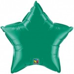 Qualatex 36 Inch Star Emerald Green