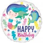 Anagram 17 Inch Sea Life Happy Birthday