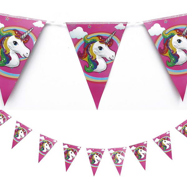 Banner - Birthday Party Unicorn Pony Banner