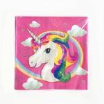 Party Unicorn Pony Disposable Napkins ~ 20pcs