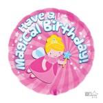 Northstar 18 Inch Magical Birthday Foil Balloon