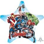Anagram 28 Inch Avengers Star SuperShape