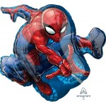 Anagram 29 Inch Spiderman Supershape Foil Balloon