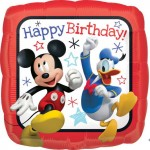 Anagram 17 Inch Mickey Mouse Roadster Square HBD