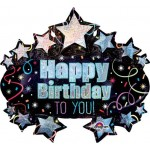 Anagram 31 Inch Birthday Brilliant Marquee Shape