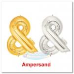 Betalic 16 Inch Symbol Ampersand [&] Foil Balloon