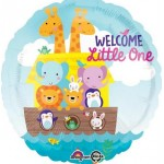 Anagram 18 Inch Welcome Little One Baby Shower Noah's Ark