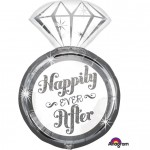 Anagram 27 Inch Happy Ever After Foil Balloon