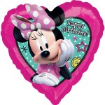 Anagram 17 Inch Minnie Happy Helpers Happy Birthday Balloon