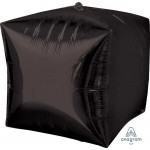 Anagram 15 Inch Ultrashape Cubez Black Foil Balloon
