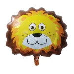 Mytex Mini Shape Lion Foil Balloon ~ 5pcs