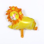 Mytex Mini Shape Smiling Lion Balloon ~ 5pcs