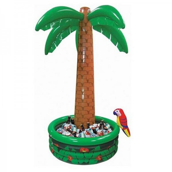 Drinks Inflatable Cooler - Imported 6 ft Jumbo Palm Tree Inflatable Drinks Cooler