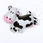Mytex Mini Shape Cute Farm Cow Balloon ~ 5pcs