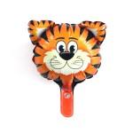 Mytex Mini Shape Tiger Face Balloon ~ 5pcs
