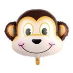 Mytex Mini Shape Monkey Face Balloon ~ 5pcs