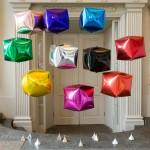 Cubez Foil - Anagram 15 Inch Ultrashape Cubez Red Foil Balloon